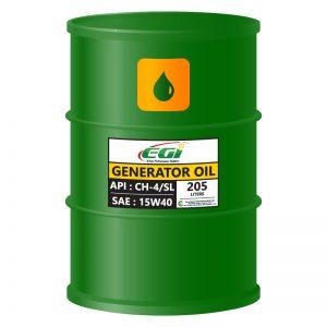 GENERATOR-OIL-BARREL